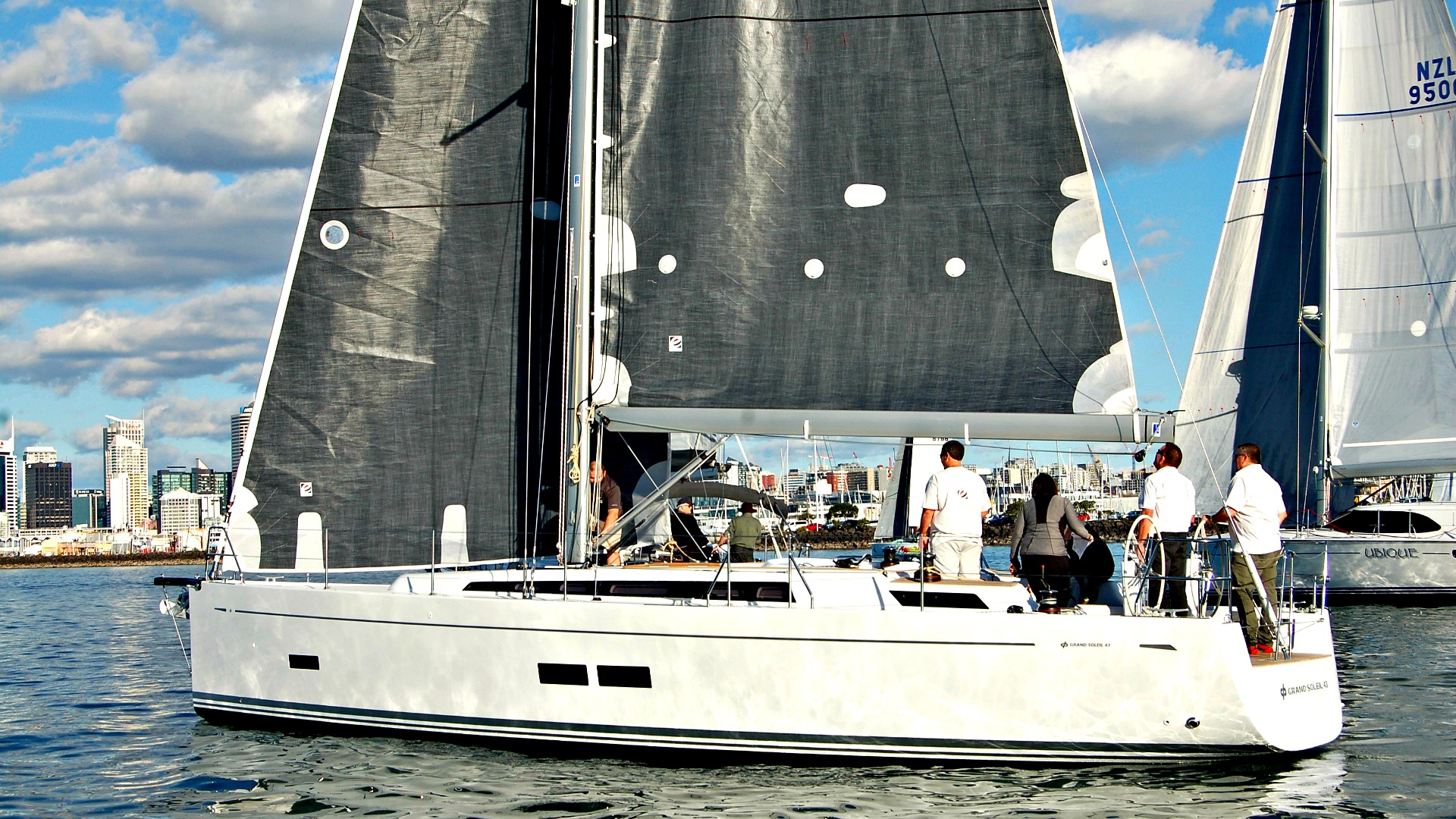 Grand Soleil 43 Performance Yacht arrives in Auckland